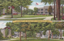 Missouri Kansas City Campus Scene University Of Kansas