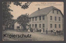 ALTE POSTKARTE GRUSS AUS HARTHENREUTH GASTHAUS ZUR FRÄNKISCHEN JURA VON JOHANN BECK Gössweinstein Cpa Postcard AK - Unclassified
