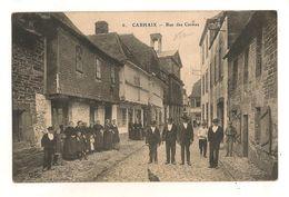 29 Caraix Carte Rue Des Carmes - Carhaix-Plouguer