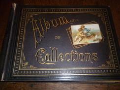 Album 124 Chromos  (toutes Les Images Sont Collées ) - Voir Description - Chromos