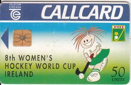 IRELAND - Womens Hockey World Cup, Chip GP1, 07/94, Used - Ireland