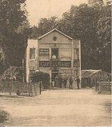 95 Carte Nucourt Gare Cafe Restaurant Lancon Briolay Chocolat Menier  Cafe De La Gare - Autres Communes
