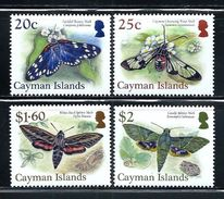 """Cayman Islands      """"Moths""""      Set  (new Issue October-12-2017)   MNH - Cayman Islands"""