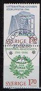 SUEDE /Oblitérés/Used/ 1986 - 200 Ans Académie Suèdoise - Oblitérés