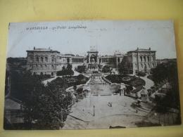 B13 150 - CPA 1917 - 13 MARSEILLE - LE PALAIS LONGCHAMP - CACHET MILITAIRE BATAILLON DE TIRAILLEURS INDOCHINOIS - Marsella