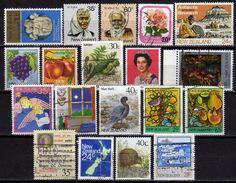 NEUSEELAND 1980-1989 - Lot 19 Verschiedene Used - Neuseeland