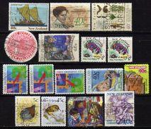 NEUSEELAND 1990-1999 - Lot 16 Verschiedene Used - Gebraucht