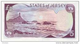 JERSEY P. 27a 5 P 2000 UNC - Jersey