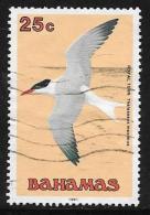 Bahamas, Scott #713 Used Royal Tern, 1991 - Bahamas (1973-...)