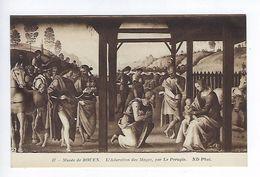 CPA Musée De Rouen L'Adoration Des Mages Par Perugin N° 67 ND Phot. - Peintures & Tableaux