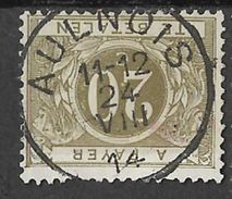 _7Be-406: N° TX6: E18-m2: AULNOIS 24 VIII 14 : AULNOIS Werd Bezet Op 25.VIII.1914 - WW I