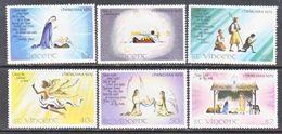 ST. VINCENT  587-92   **     CHRISTMAS - St.Vincent (...-1979)
