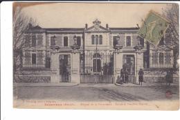 HERAULT   BEDARIEUX HOTEL DE LA PROVIDENCE - ENTREE ET PAVILLON CENTRAL - Bedarieux