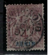 BENIN                N°  YVERT     35       OBLITERE       ( O   4391 ) - Bénin (1892-1894)