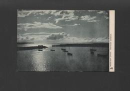 Postcard 1910years NORTHERN IRELAND MOONLIGHT EFFECT PORTRUSH HARBOUR EIRE - Ireland
