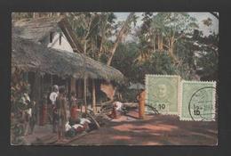 Postcard 1910years CEYLON CEYLAN SRI LANKA Rural Scene - Postcards