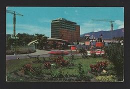 Postcard 1960s VENEZUELA  CARACAS HOSPITAL CIUDADE UNIVERSITARIA  Building Bâtiments Skyscrapers Skyscraper - Unclassified