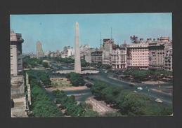 PC  AIRLINE ISSUED PAN AM 50s CLIPPER AIRPLANE Air Route ARGENTINA BUENOS AIRES - Postcards