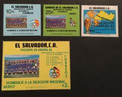 El Salvador - MNH** -  1982 - #  948, C518/520 - El Salvador