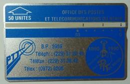 BENIN - L&G - Trial - BEN-01A - 50 Units - 1992 - 206A - Post Office Anniversary - Used - Benin