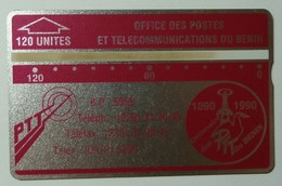 BENIN - L&G - 120 Units - Field Trial - Specimen - Post Office Anniversary - Benin