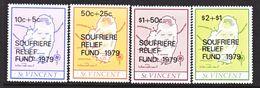 ST. VINCENT  B 1-4    **    MAP - St.Vincent (...-1979)