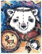(240) Russia - Polar Bear Art - Ours Polaire - Orsi