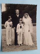 KONINKLIJK PALEIS België / Belgique Famille ROYALE ( Aux Fam. Des Militaires ) +/- 11 X 14 Cm. ( Zie Foto Details ) ! - Célébrités