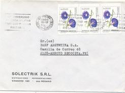 ROSARIO - 1985 , Brief Nach Arroyo Seco - Argentinien