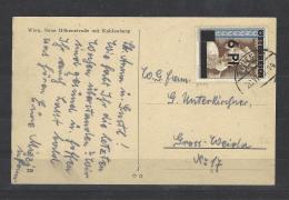 Mi. Nr. 665 A. Karte - 1945-60 Briefe U. Dokumente