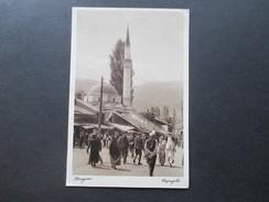 AK 1929 Bosnien / SHS. Dapajebo / Sarajewo. Einheimische / Moschee / Kirche. An Prof. Dr. Carl Patsch. Social Philately - Bosnien-Herzegowina
