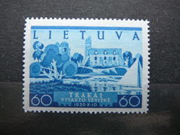 Recovery Of Vilnius # Lietuva Litauen Lituanie Litouwen Lithuania # 1940 MNH# Mi. 445 - Litouwen