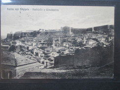 AK 1930 Albanien Kujtim Nga Shqipria - Keshtjella E Gjinokastres. Burg! Nach Wien Weitergeleitet Nach Kitzbühel - Albanien