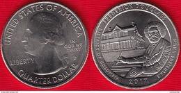 """USA Quarter (1/4 Dollar) 2017 P Mint """"Frederick Douglass, DC"""" UNC - Émissions Fédérales"""