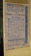Les Livrets-guides Du Touriste. Nord De La France Et Belgique - Turismo