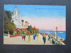 AK 1929 Monte Carlo - Le Casino Et Les Terrasses. RM. Monaco. Edition D'art Rostan & Munier - Monte-Carlo