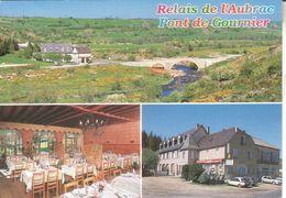 48NAS01A CPMGF 48 - NASBINAUS  CAFE HOTEL RESTAURANT DU PONT DE GOURNIER  1997 - Francia