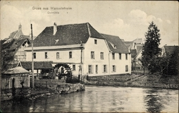 Cp Wasselonne Wasselnheim Elsass Bas Rhin, Ölmühle, Wasserrad - France