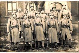 CPA N°12836 - CARTE PHOTO SOLDATS DU 146e REGIMENT OU BATAILLON - Regiments