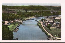 Verberie :  Vue Aérienne  Du Pont Sur L'Oise - Carte Neuve, Colorisée éd. Lapie - - Verberie