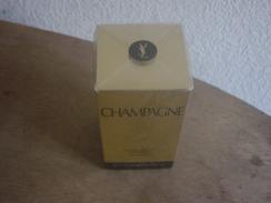 FLACON DE PARFUM -  CHAMPAGNE  - YVES SAINT LAURENT - Fragrances (new And Unused)