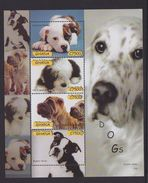 Ghana 2007 Dog Chien MNH 1sheet - Ghana (1957-...)