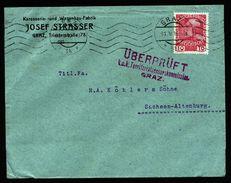 A4987) Österreich Austria Brief Graz 31.5.16 Mit Zensur Graz - 1850-1918 Imperium