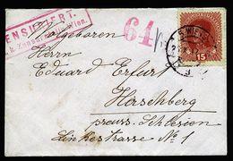 A4988) Österreich Austria Brief Wien 26.10.17 Mit Zensur Wien Und Zensor 64 - 1850-1918 Imperium