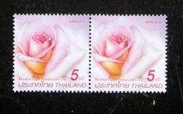 Thailand Stamp 2015 Symbol Of Love - Rose Princess Maha Chakri Sirindhorn - Thaïlande