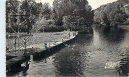 MARCILLY SUR EURE - L'eure Au Pont De Fer, La Baignade. - Marcilly-sur-Eure