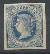 ESPAÑA  EDIFIL  63   (FIRMADO SR CAJAL, MIEMBRO DE IFSDA)   MH  * - Unused Stamps