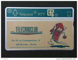 P 127. Telecardclub. 1000 Ex. - Belgium