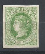 ESPAÑA  EDIFIL  65   (FIRMADO SR CAJAL, MIEMBRO DE IFSDA)   MH  * - 1850-68 Kingdom: Isabella II