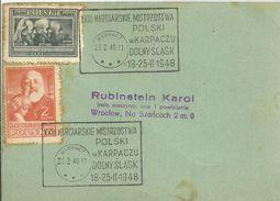 POSTMARKET  1948 - Lettres & Documents